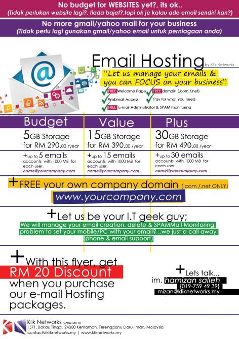 shared email hosting
